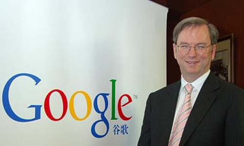China vital for Google's global strategy: Schmidt