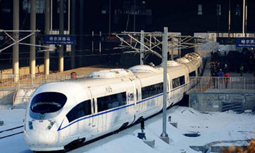 High-speed Rail to Connect Harbin to Tianjin on Dec 1