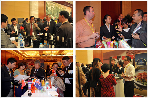 Australia business promotion in Tianjin