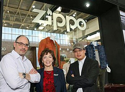 Zippo opens flagship store in T