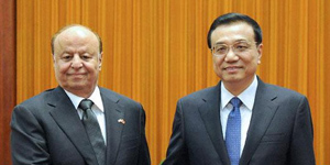 Premier Li meets Yemeni President to discuss increasing trade